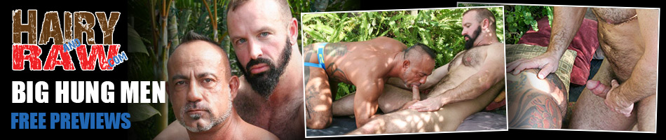Hairy and Raw - Hairy Masculine Men